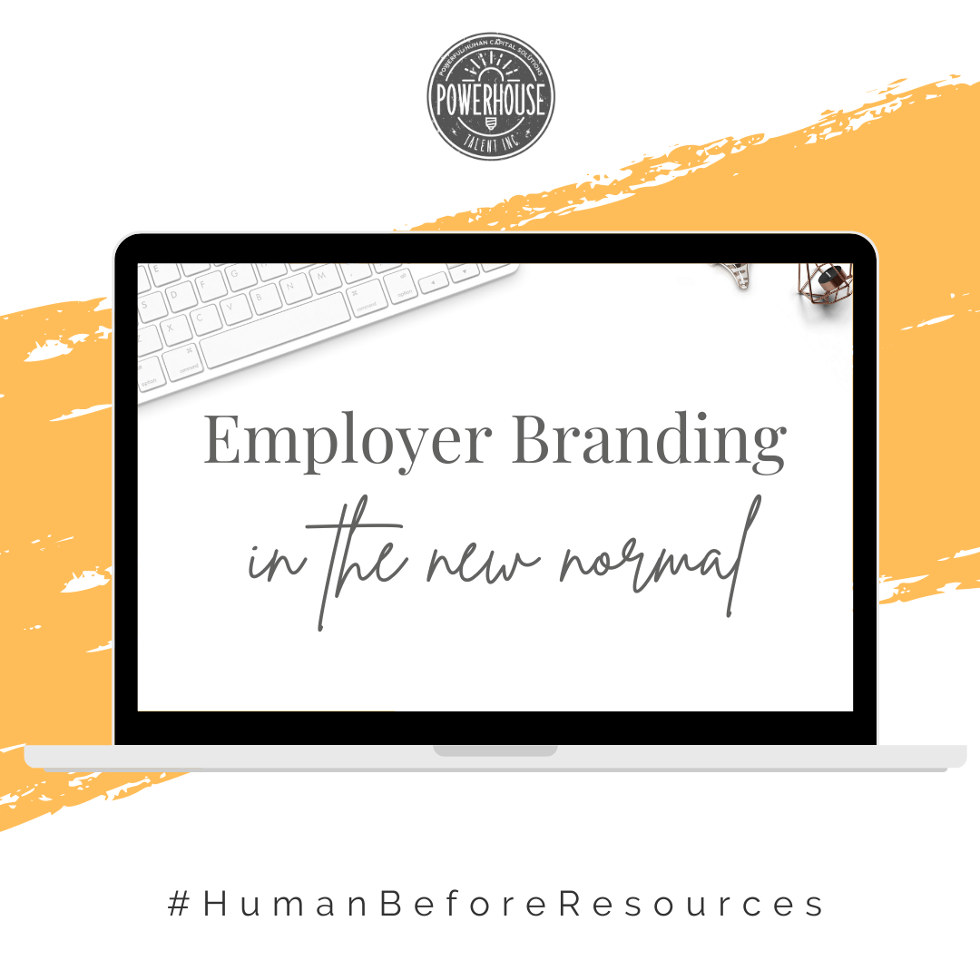 image of a laptop for a free employer branding webinar